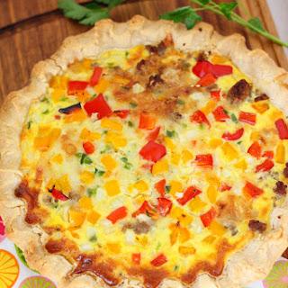 Sassy Sausage Breakfast Pie