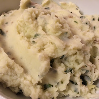 Paleo Basil Mashed Potatoes