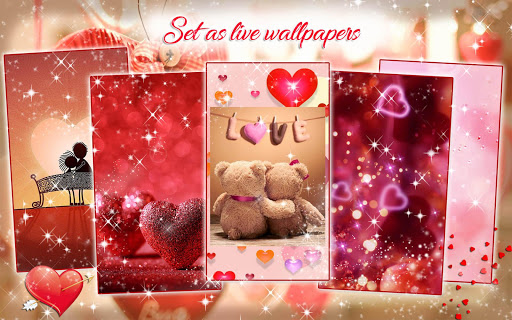 Valentine Live Wallpaper ❤ Love Background Images for PC