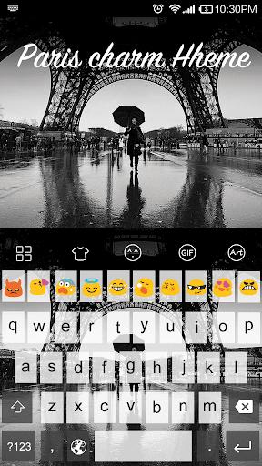 Paris Charm -Kitty Keyboard