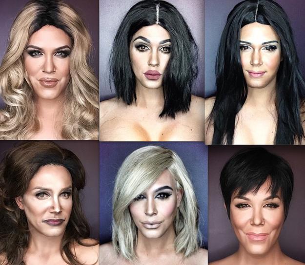 Sorprendentes transformaciones gracias al poder del maquillaje