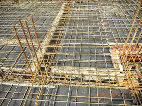 Photo: Ground Floor beam and mesh details