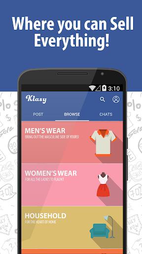 Klasy - 銷售,捕捉,聊天和購買