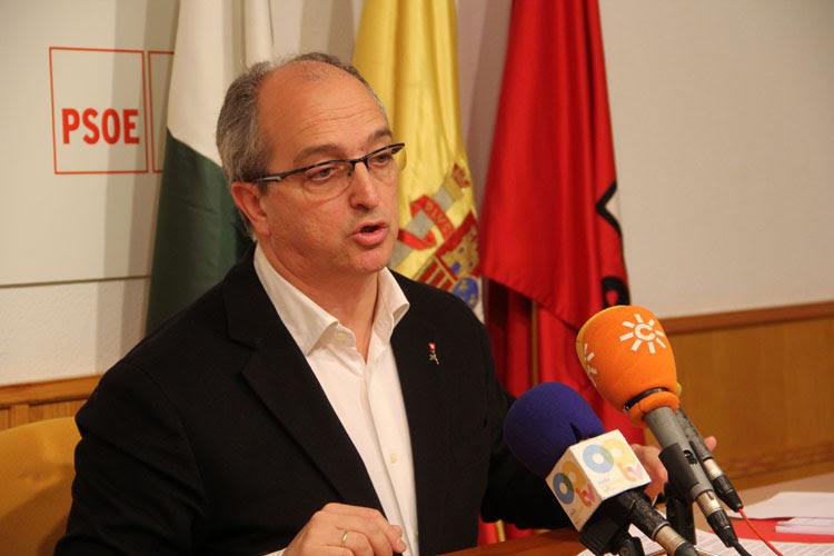 Fernando Silva, único representante socialista  en el Pleno extraordinario