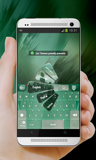 玩個人化App|绿色城市Lǜsè chéngshì GO Keyboard免費|APP試玩