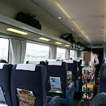 Romancecar train towards Hakone in Hakone, Kanagawa, Japan