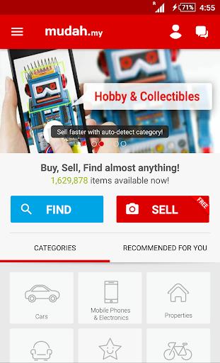 Mudah.my - Find, Buy, Sell Preloved Items  screenshots 1