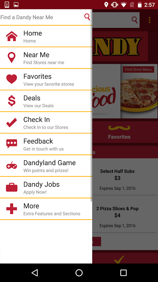 Dandy App- screenshot