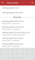 Screenshot of Hürriyet Emlak