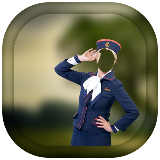 Air Hostess Photo Frame for PC