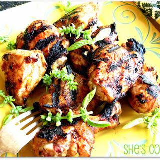 Sweet and Spicy Grilled Chicken