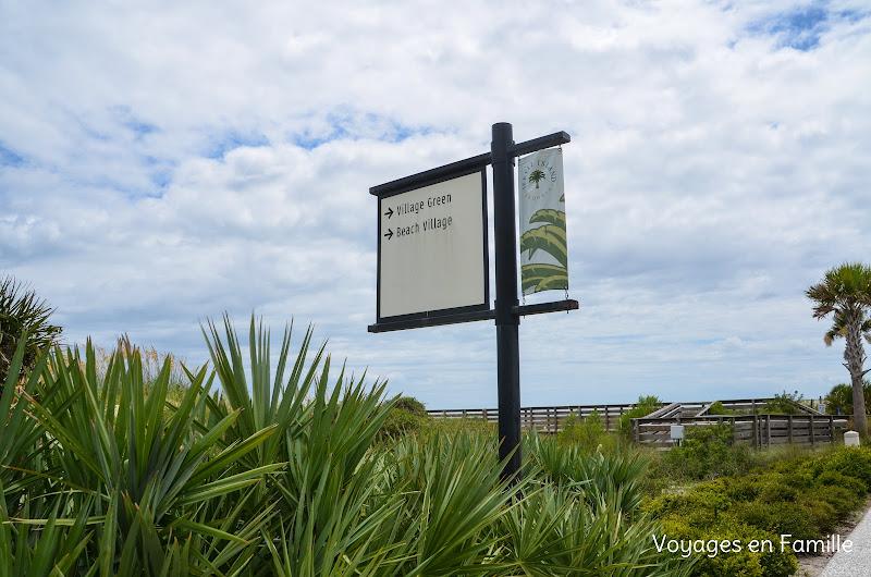 Beach village - jekyll island