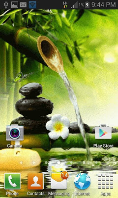 Bamboo Water Live Wallpaper - screenshot