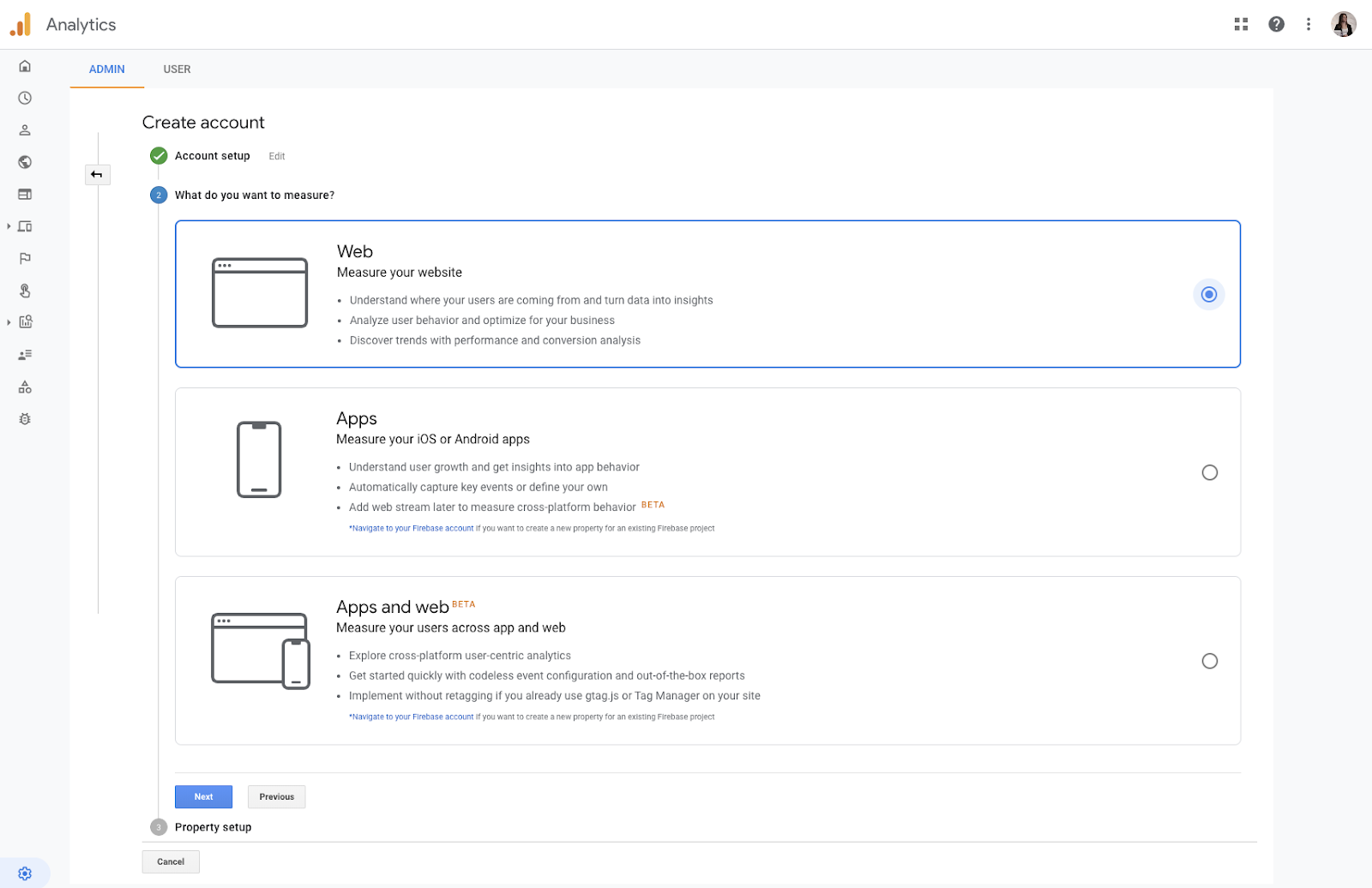 Digital Debrief – Step by Step: Setting up an App + Web Property in Google Analytics