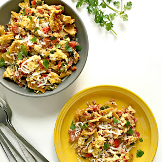 Mexican Egg & Tortilla Breakfast Skillet (Migas).