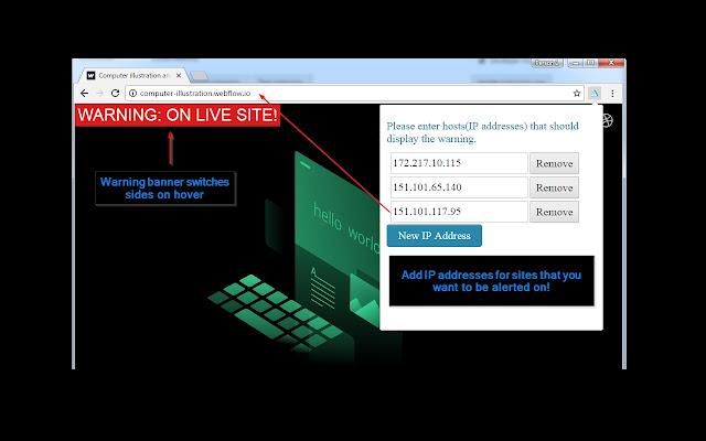 QA Host Warning Tool