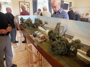 Photo: 003 Peter Bossom also brought along some 3mm scale models, this time a completed layout, again in 14.2mm gauge. This is the Sub Wealdon Gypsum Company .