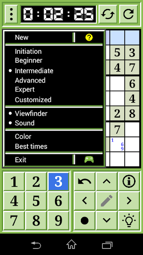 Classic Sudoku  screenshots 2