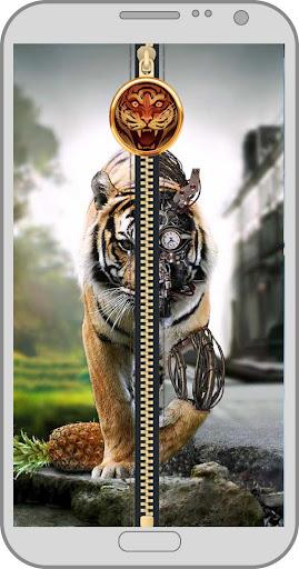 Tigre Electr écran verouillage