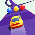 Color Cars Road Run 3D icon