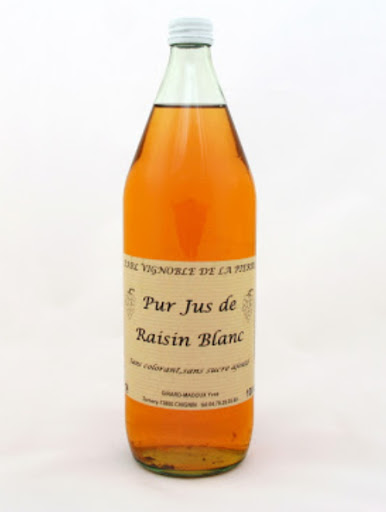 Still Grape Juice from Jacquère - Savoie Wine - Chignin - Vignolbe de la Pierre