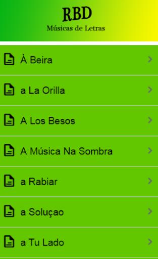 musicas rbd download