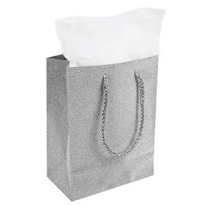 Presentpåse, Silver