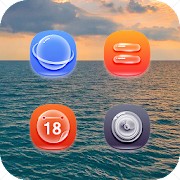 App Blue Ocean Style Icon Pack APK for Windows Phone