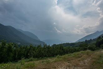 Photo: W górach niezła burza.