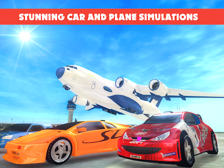 Race Car Transporter Airplane 1.9 screenshot 975055