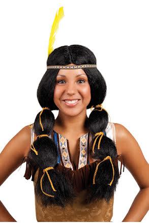 Peruk Indian Pocahontas