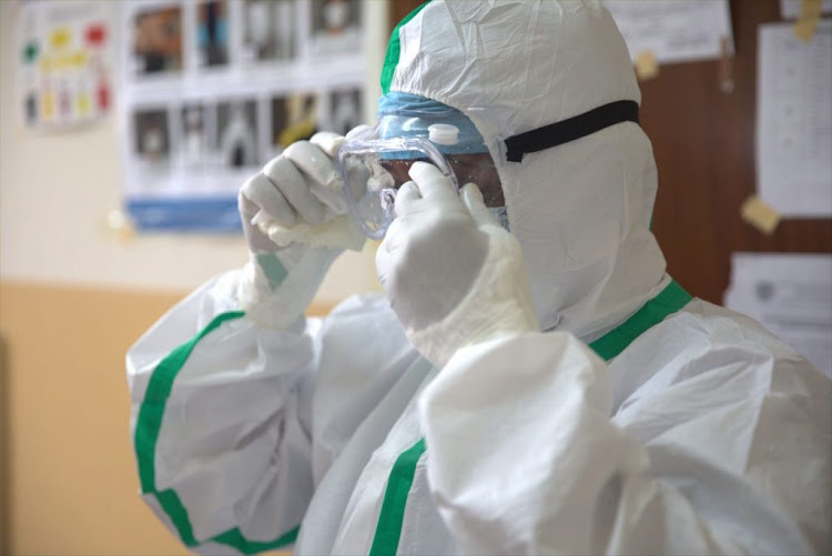 African health workers on the Covid-19 frontlines need PPE. Picture: AFRICA CDC