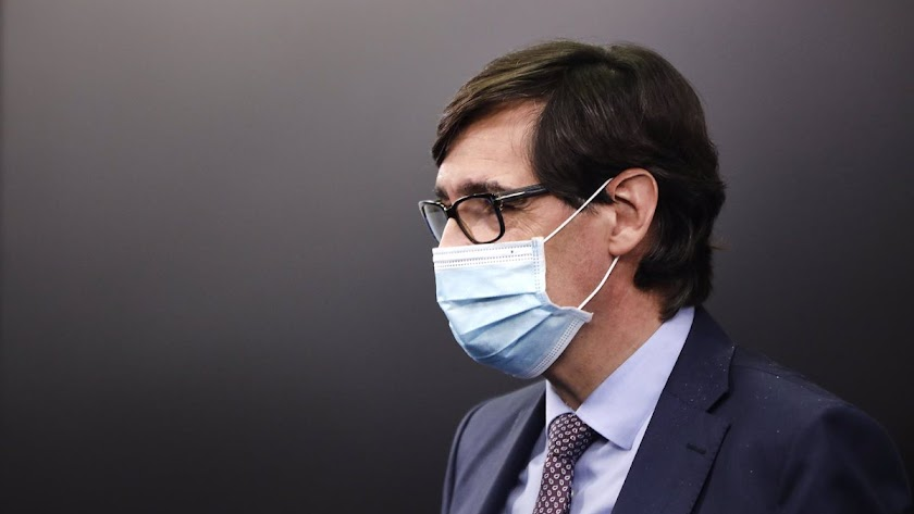 Salvador Illa ha anunciado la fecha para la primera vacuna.