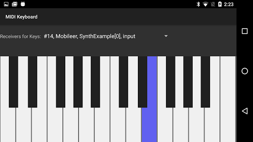 MIDI Keyboard 1.3 screenshots 1
