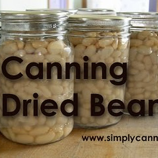Canning Dried Beans.