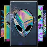 Cute Alien Wallpaper
