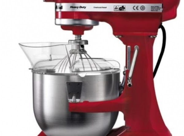 I use my Kitchen Aid to do all the mixing. It has a large...