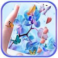 Orchid Flower Theme blossom APK
