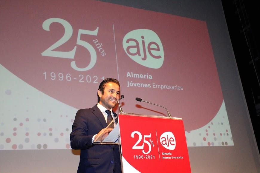 Félix Almagro, secretario General AJE Andalucía.