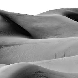 Dune Shadows by Sam Alexander - Black & White Landscapes ( 2018, october )