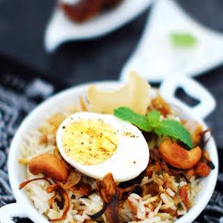 Egg Biriyani.