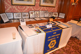 Photo: Toronto Chapter history display