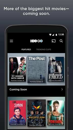 HBO GO: Stream with TV Package screenshot
