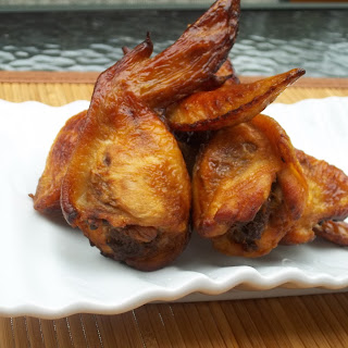 Bison-Stuffed Smoked Wings