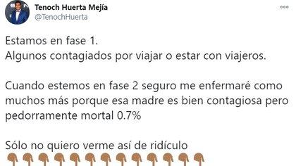 (Foto: Twitter @TenochHuerta)