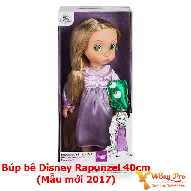 Búp bê Disney Rapunzel 40cm - Disney Animators