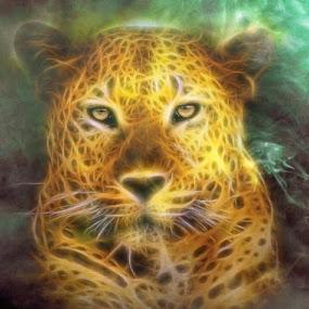 by Ukri Manu - Digital Art Animals