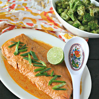 5-Ingredient Red Curry Salmon.