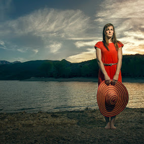Becky by Braxton Wilhelmsen - People Portraits of Women ( lighting, retouching, sunset, advertising, portrait, braxton wilhelmsen, photoshop )