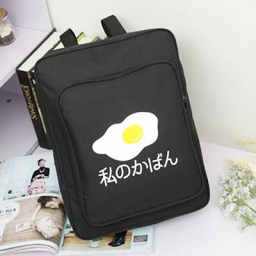 煎蛋款式背包
